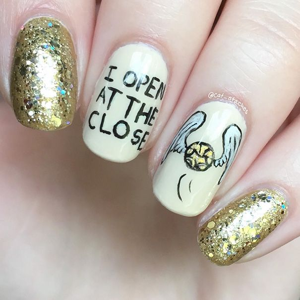 55 Best Harry Potter Nail Art Ideas