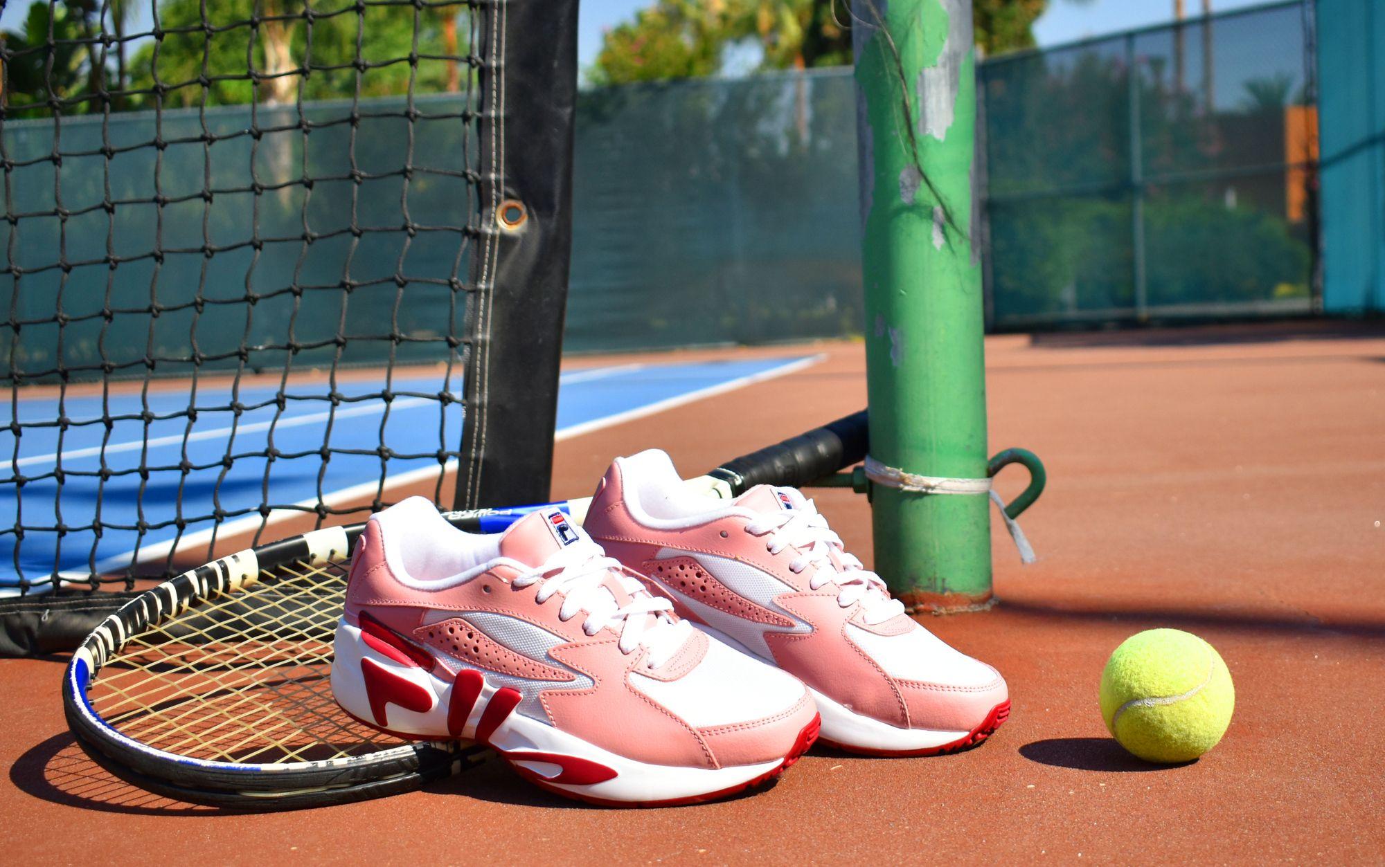 Tenis Fila White Mindblower Rosa Mujer RM00395127