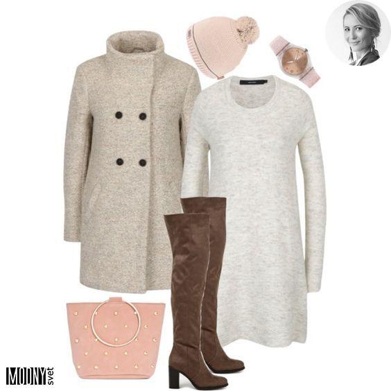 1b4a8fb42 Aj v zime sa chceme páčiť 😉 Ak vám záleží na vašom pohodlí a zároveň si  chcete zachovať ženskosť, tieto krémové svetrové šaty by mohli byť tou  správnou ...