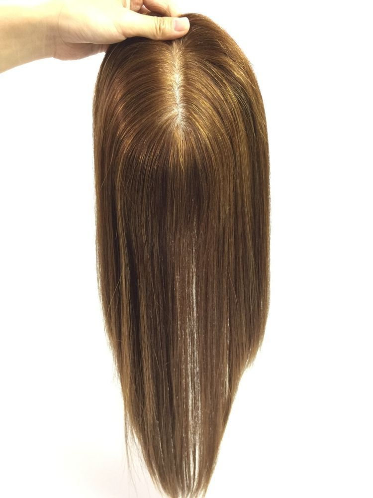 Mixed Blonde Best Clip In Human Hair Wig Toppershair Extensions For