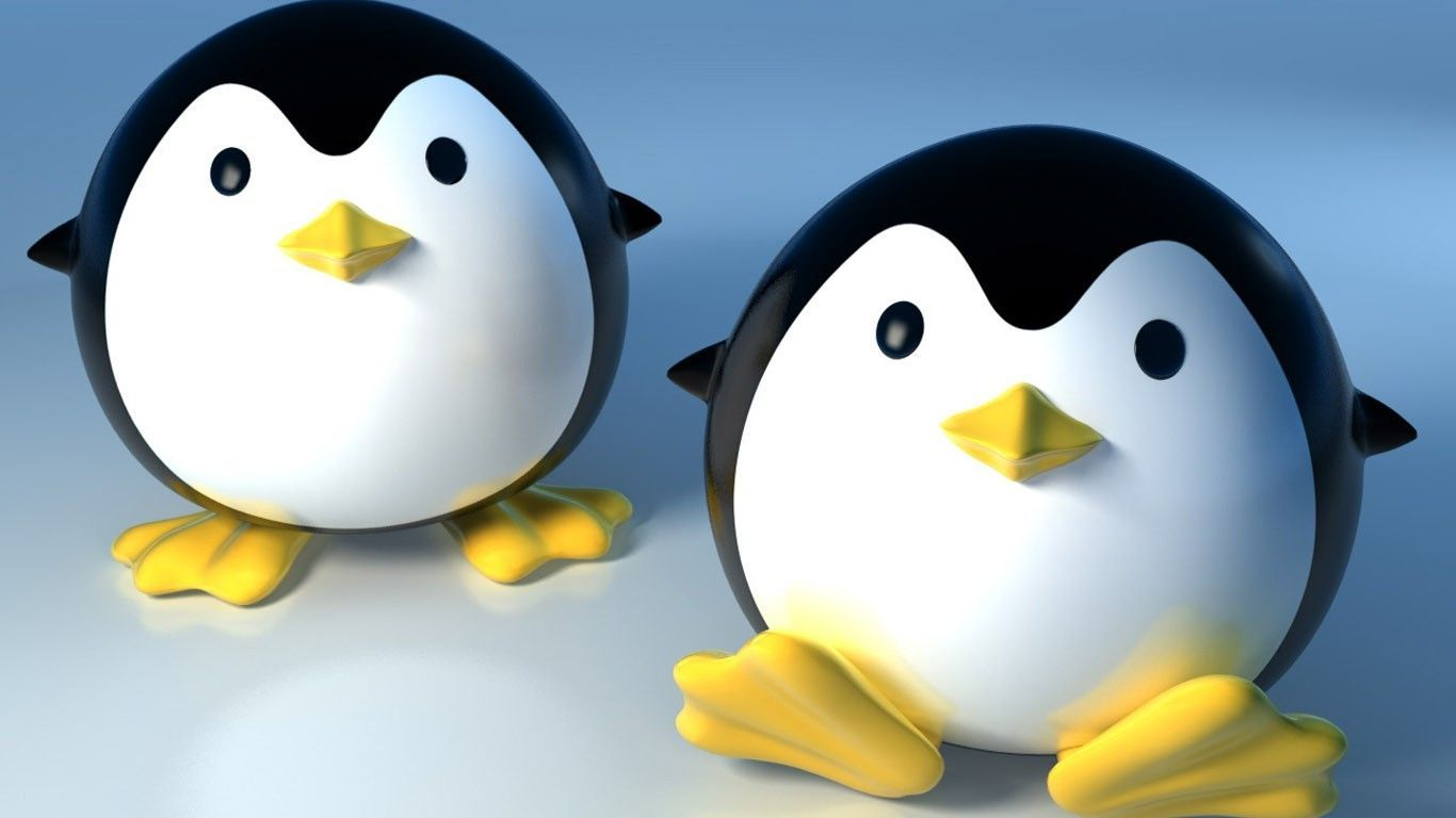 Cute penguins cute mighty pictures - Cartoon