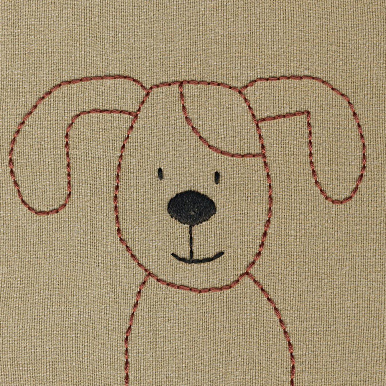 Dogs embroidery pattern embroidery dog and patterns