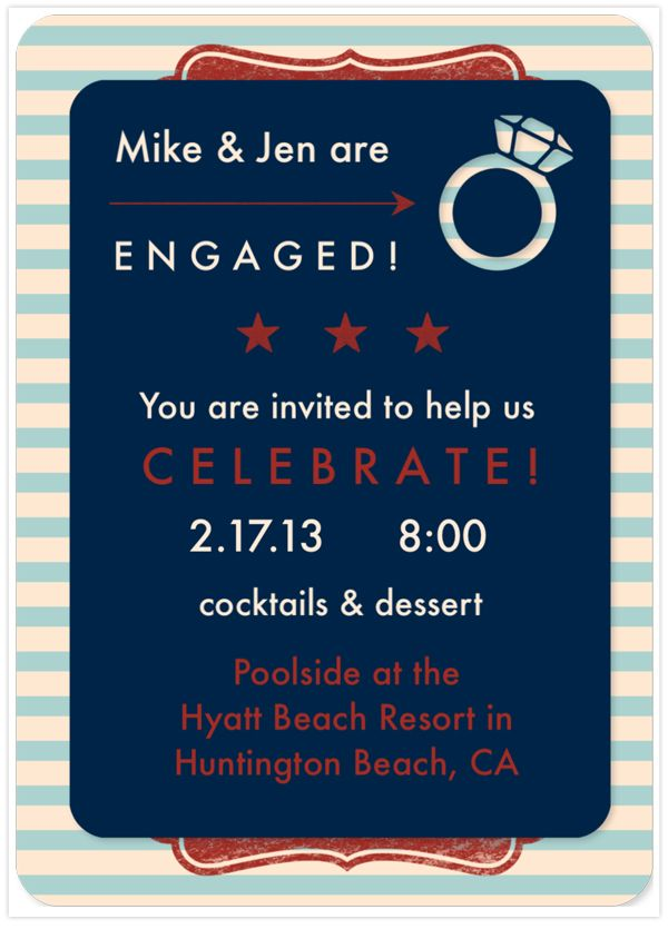 ipad app engagement party invitations martha stewart and engagement