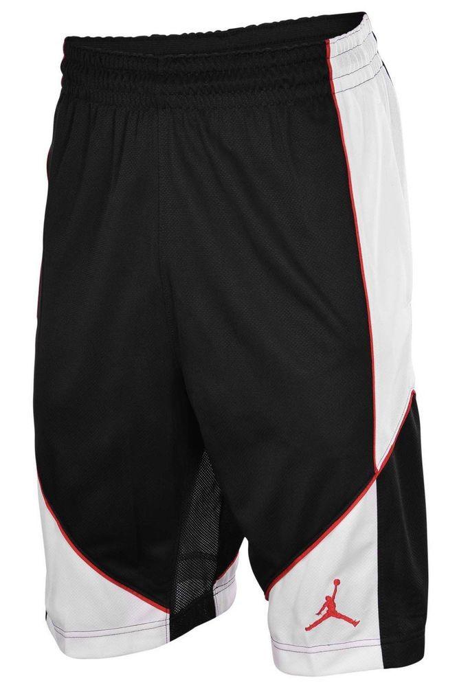 2ec81d2aa47efe ... New Nike Air Jordan mens Dri Fit stay cool basketball shorts M L XL XXL  fitness NikeAirJordan ...
