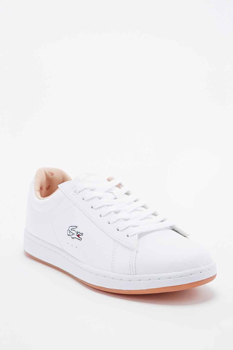 9050c1fa31 Lacoste - Baskets classiques Carnaby Evo avec croco blanc | Shoes ...