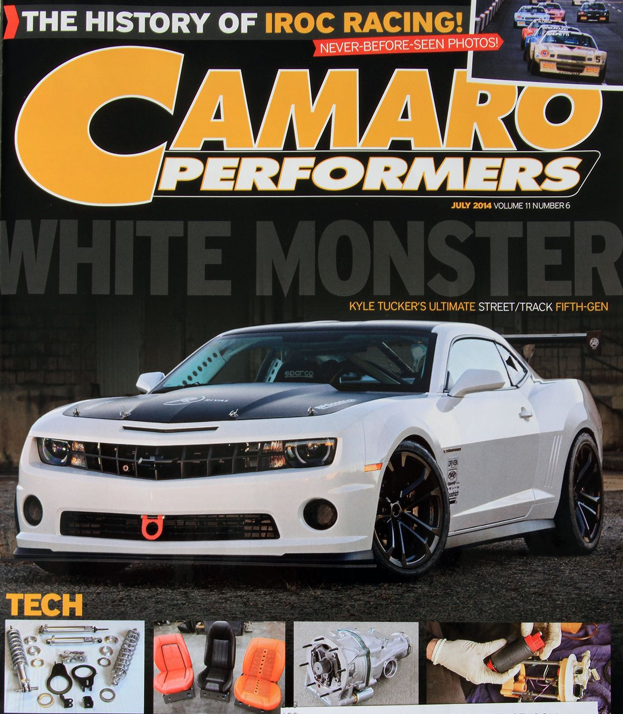 Grab the July 2014 Issue of Camaro Performers Magazine with Kyle