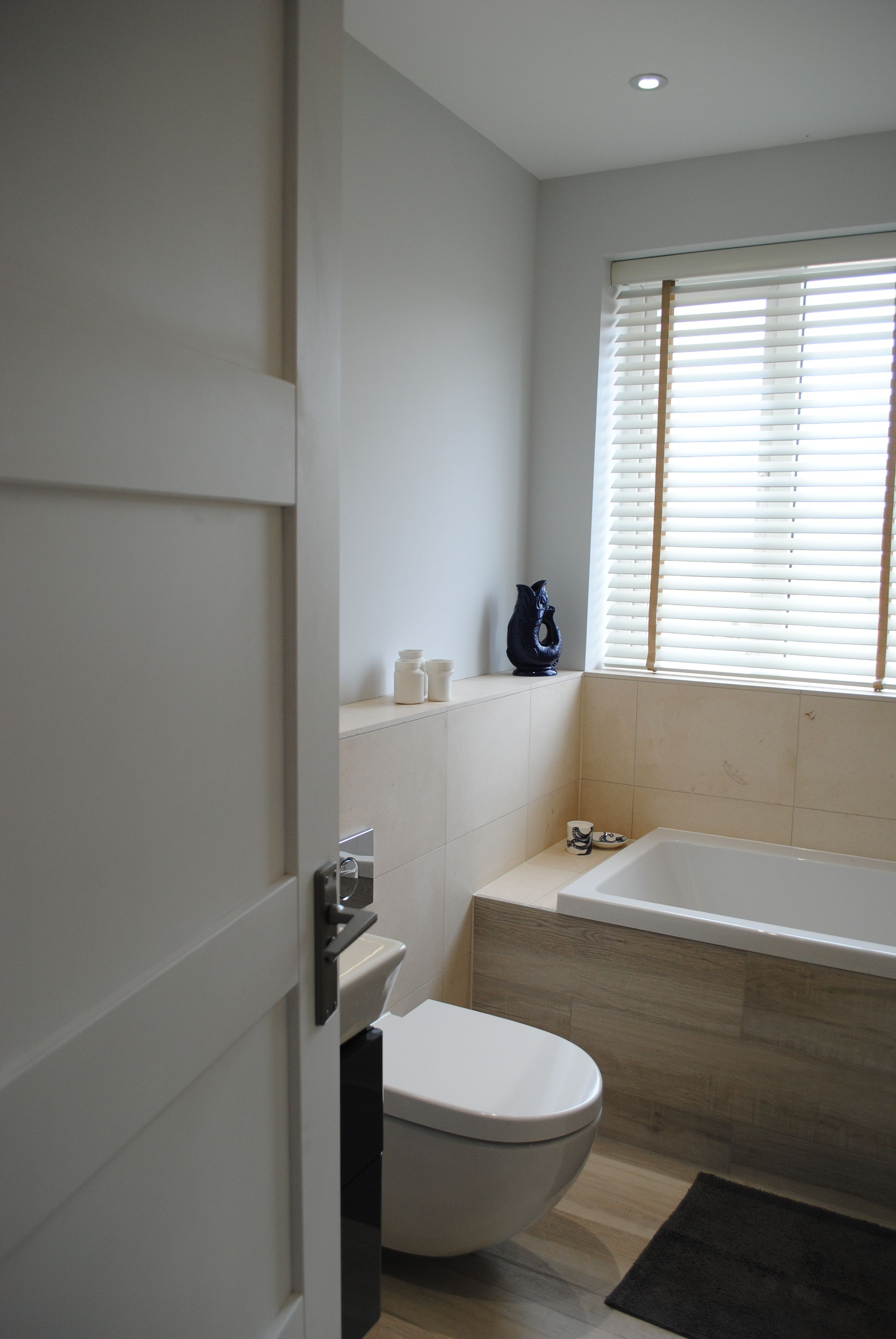 Bathroom created from a spare bedroom