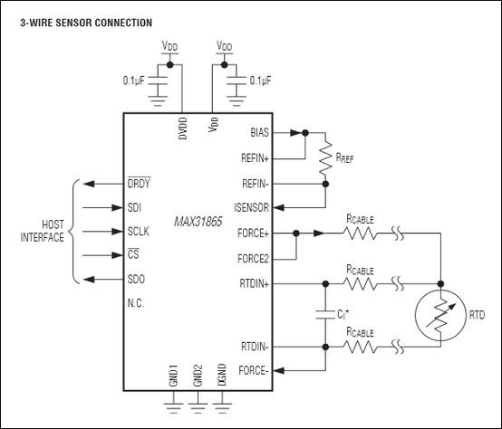 Rtd Pt100 2 Wire Wiring Diagram: Here's A Resistance Temperature Detector (RTD) Interface