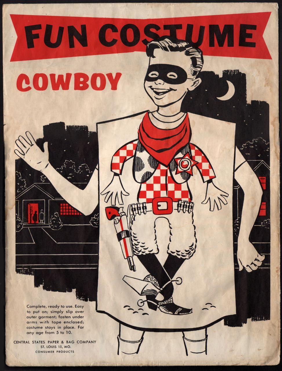 Vintage Cowboy Halloween costume | Vintage Randoms | Pinterest ...