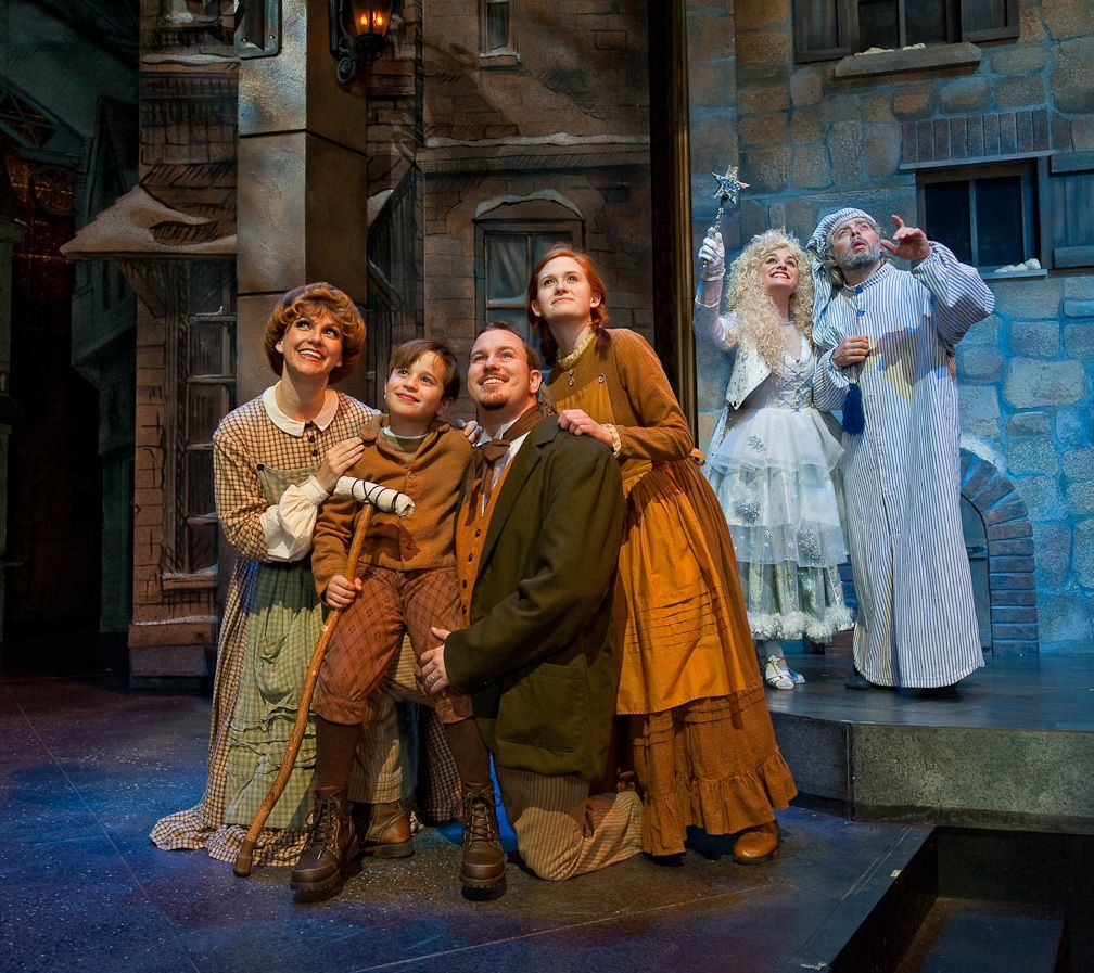 Tiny Tim A Christmas Carol: A Dickens Christmas Carol At Silver Dollar City's An Old