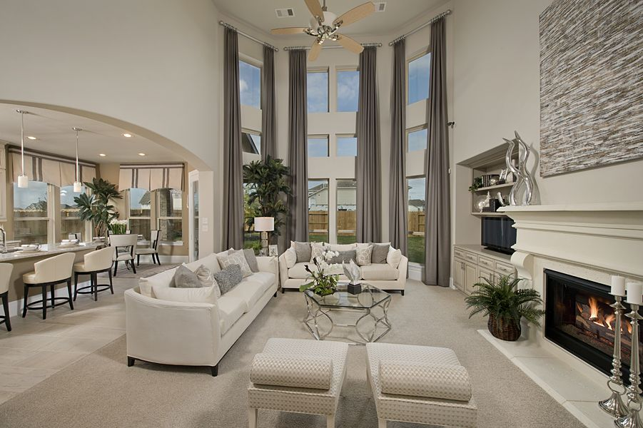 the living room westin westin homes bridgeland new homes houston the 17806