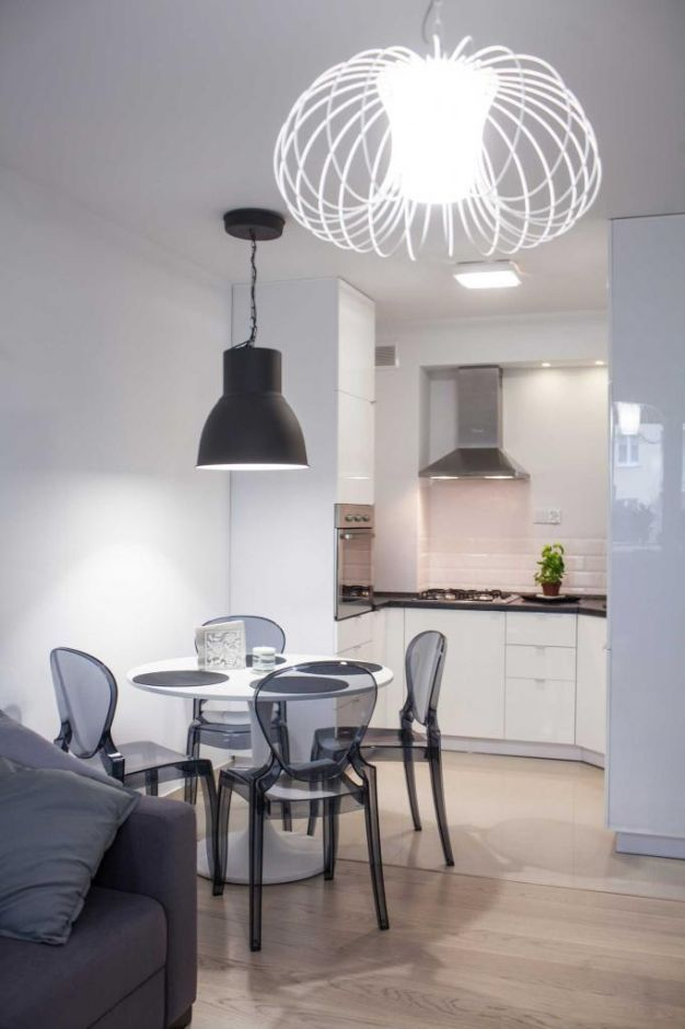Mala Kuchnia W Bloku Polaczona Z Jadalnia I Salonem Home Decor Living Room Kitchen Home