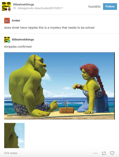And Important Lessons About Ogre Anatomy Shrek Dreamworks Animation Funny Pictures