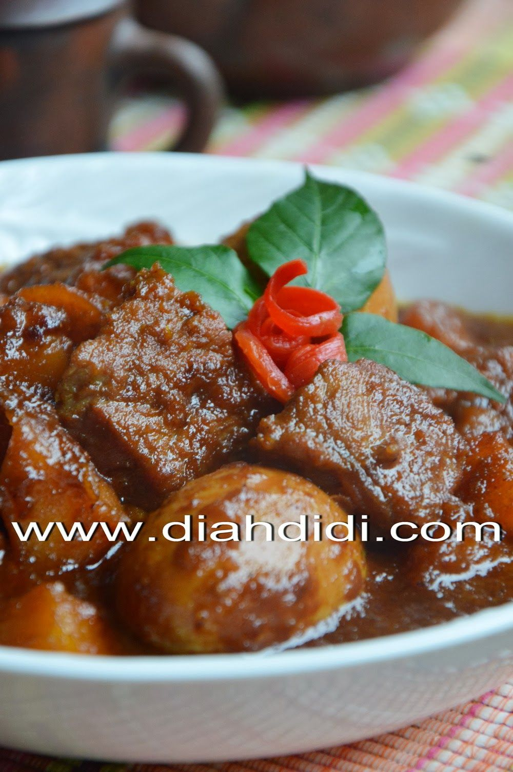 Diah Didi S Kitchen Semur Betawi Resep Masakan Makanan Dan Minuman Masakan