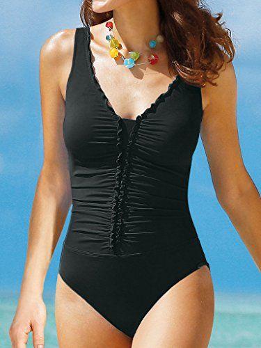 purchase cheap 4b148 d3a5f edler Badeanzug von Sunflair in schwarz Artikel 72139 (44-E ...