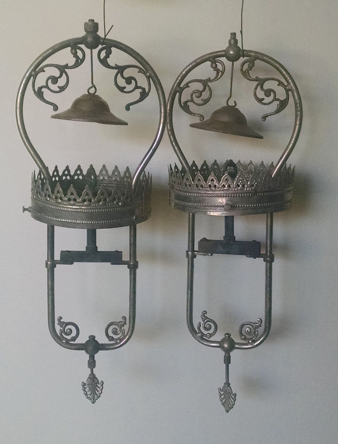 vintage humphrey gas light fixtures from the 1900 s rare by
