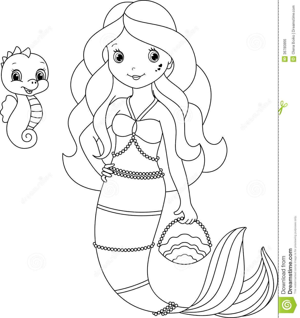 mermaid clip art black and white  google search  mermaid