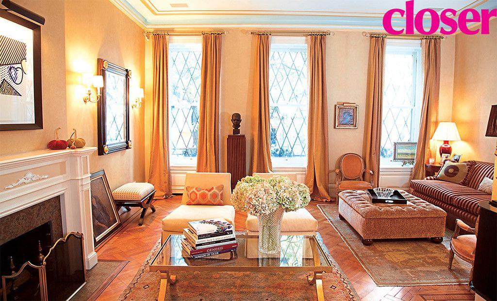 Inside Al Roker S Gorgeous Manhattan Brownstone Brownstone Homes Brownstone Celebrity Houses