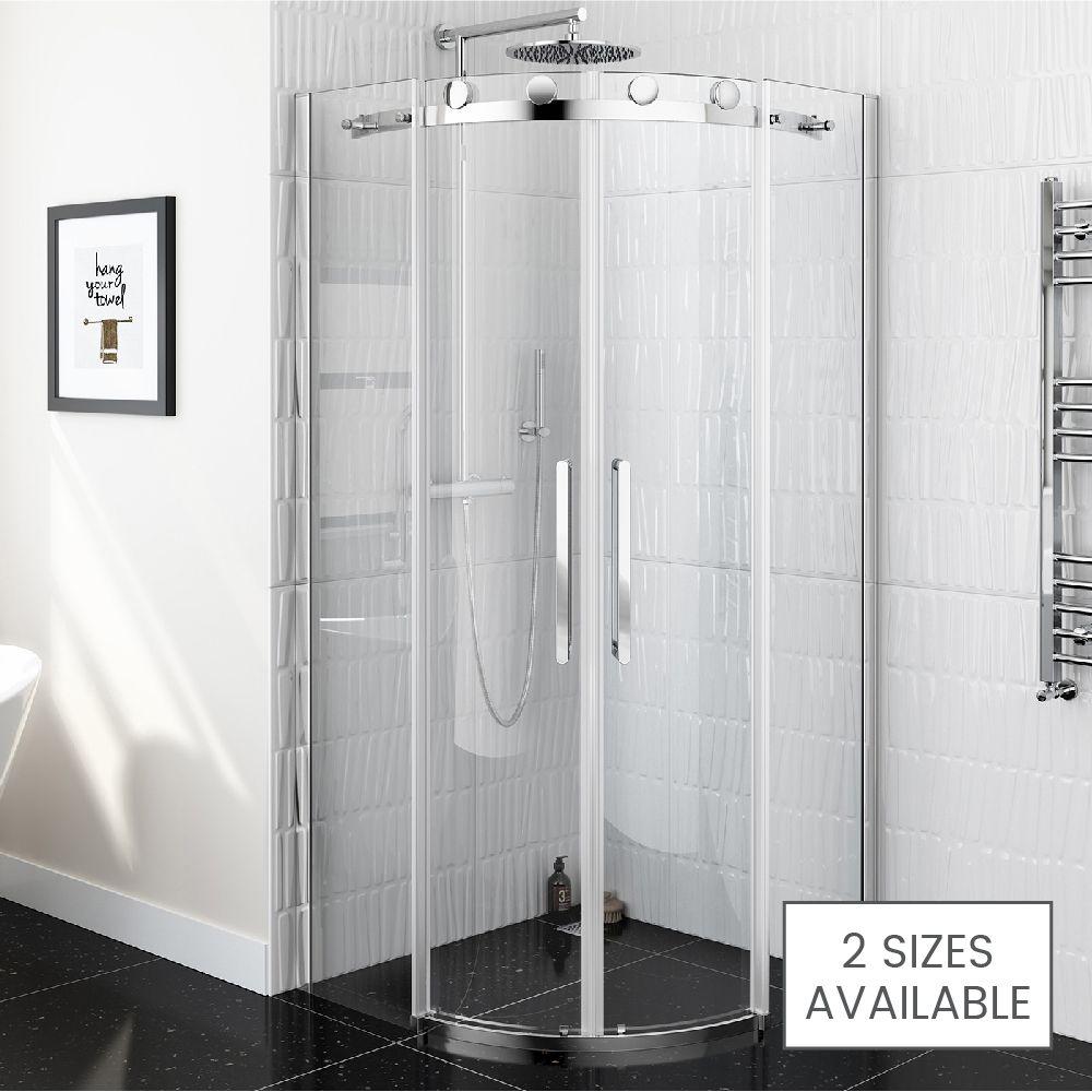 8mm - Luxe Frameless EasyClean Quadrant Shower Enclosure | House ...