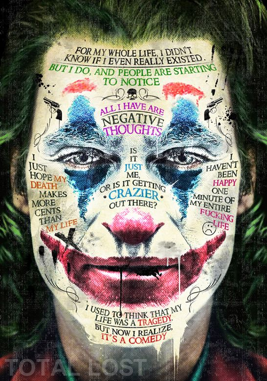 Joker poster,Joker quotes,Joker print,movie poster,movie print,man cave decor,the joker,comics,man cave art,wall art,Joaquin Phoenix Joker