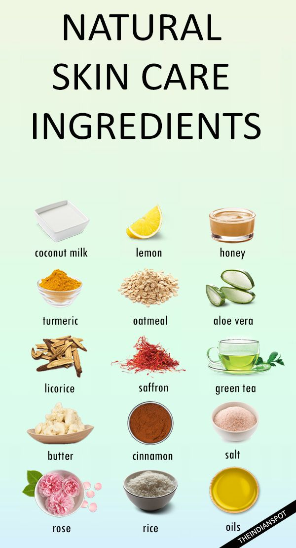 Best Natural Skin Care Ingredients For Healthy Clear Skin Best