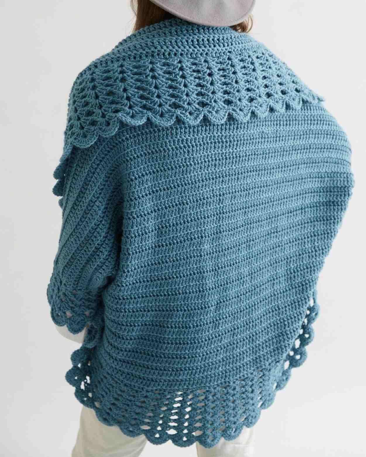 0125d46742c54b Crochet Jacket - crochet boho jacket by aisha crochet. cabled crochet jacket  chameleon style by briana k designs. ss17 pepperland leather and crochet ...