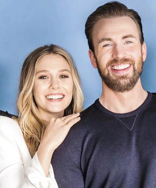 Pin By Andrea On Marvel Chris Evans Chris Evans Captain America Elizabeth Olsen