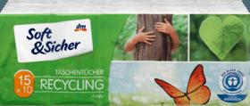 Recycling Taschentucher 15x10 Stuck 15 Btl