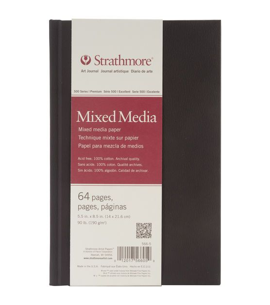 "Strathmore Mixed Media Art Journal 5.5""X8.5""-64 Pages"