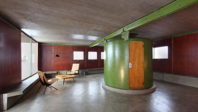 jean prouv les jours meilleurs house 1956 par s galer as y interiores. Black Bedroom Furniture Sets. Home Design Ideas