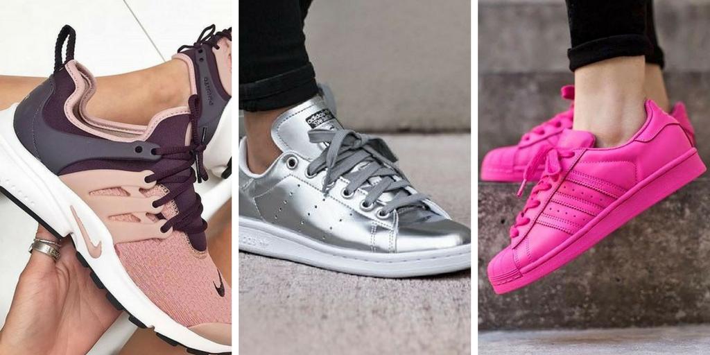 Auswahl an 20 Turnschuhen für Trend Frauen #shoeboots