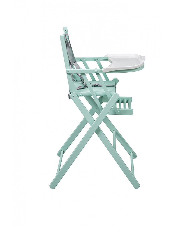Strange Combelle Sarah Fold Away High Chair Mint Green Buy Machost Co Dining Chair Design Ideas Machostcouk