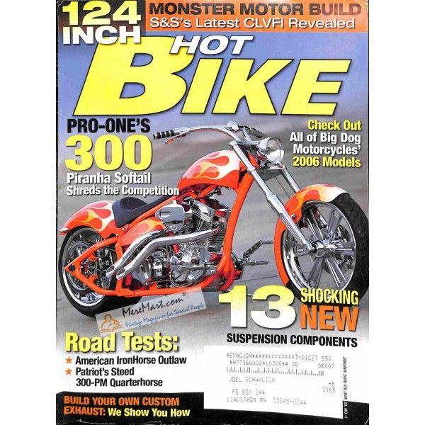 Cover Print Of Hot Bike January 2006 Hot Bikes Bike Magazine