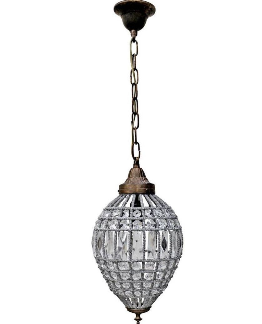 french inspired lighting. St Loren Hanging Lamp In 2 Sizes \u2013 Allissias Attic \u0026 Vintage French Style Inspired Lighting B