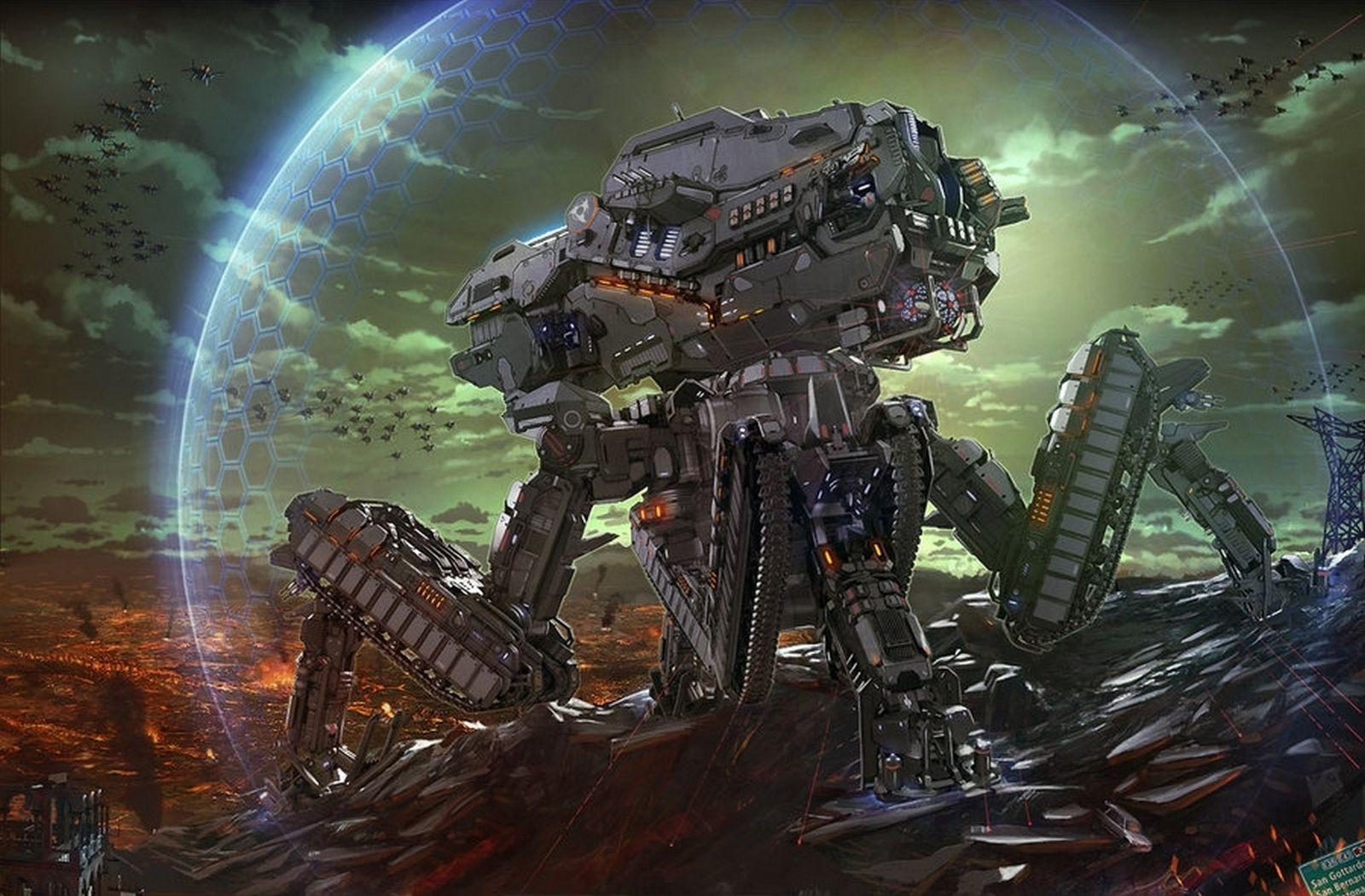 robot science fiction concept - photo #6