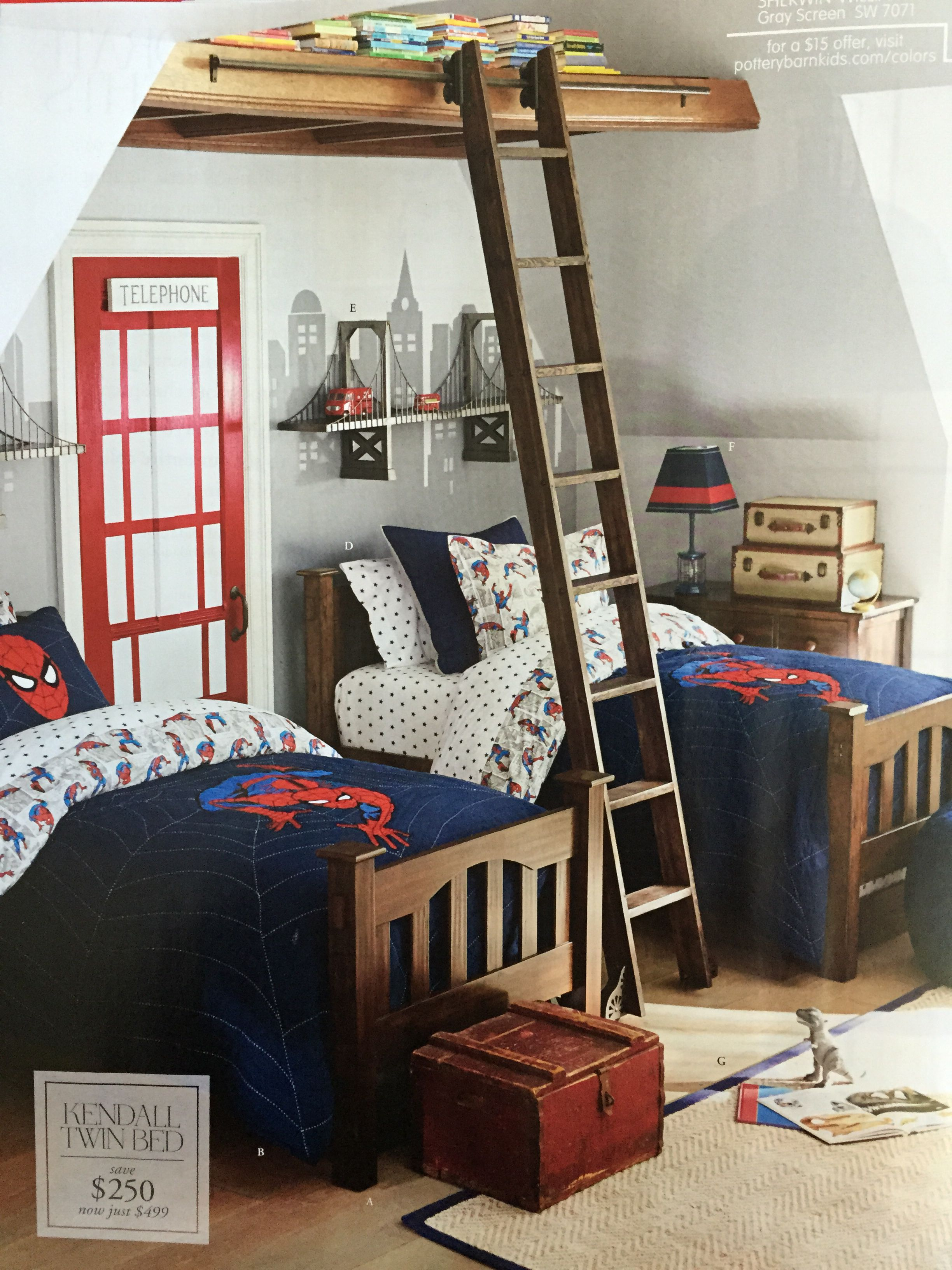 Pottery barn kids room   Boys bedroom decor, Boy room, Room
