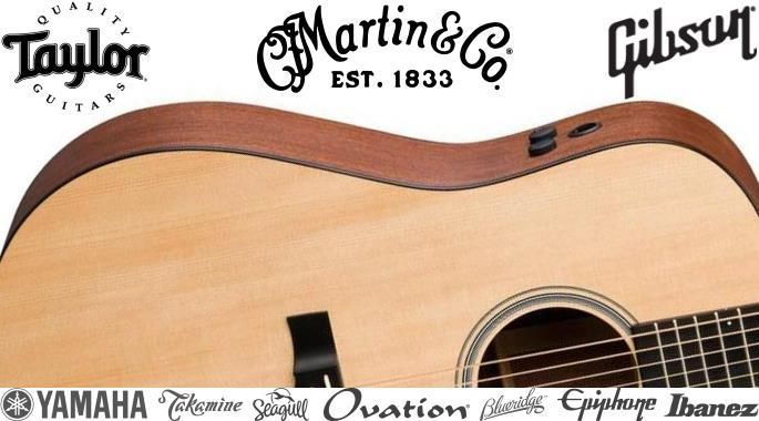 The Best Acoustic Guitar Brands