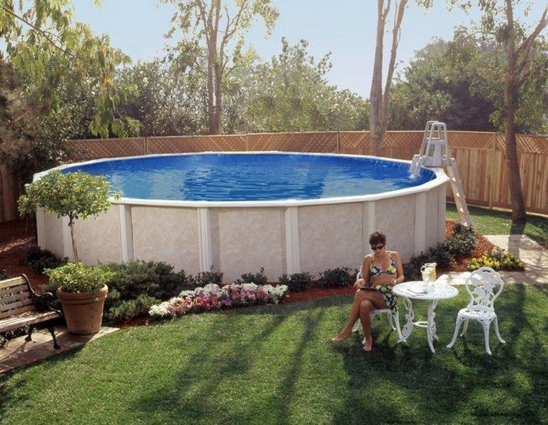✔ 46 above ground pool landscaping that every people need to see 21
