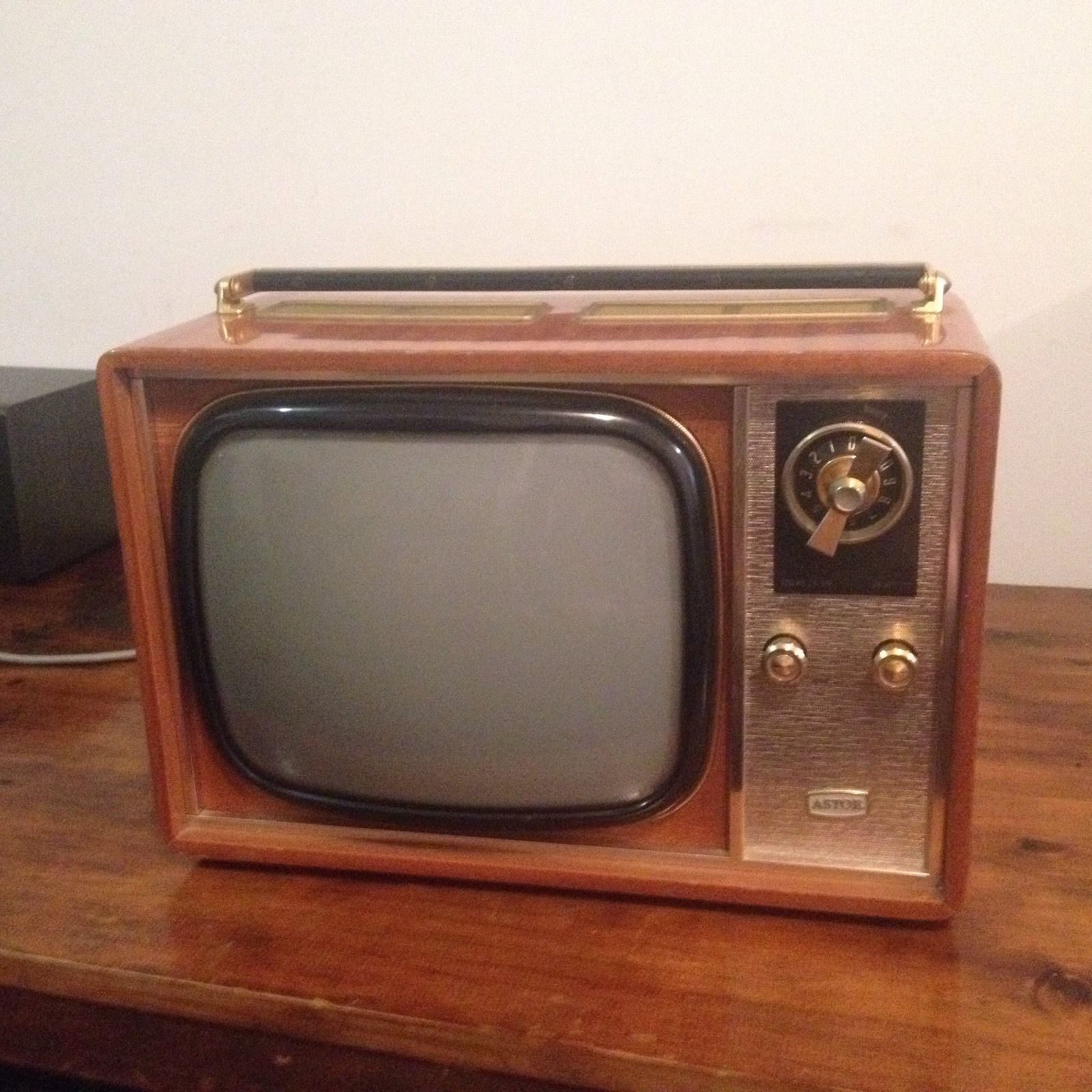 Astor portable television from 1965