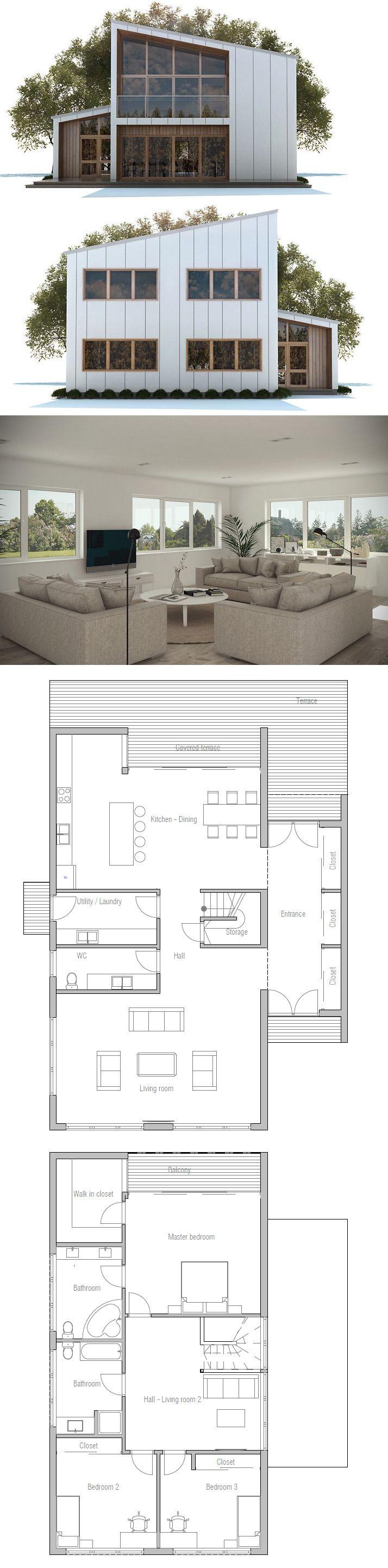 Idee Treppe In Mitte Grundriss Pinterest Haus Bauen Und Ideen