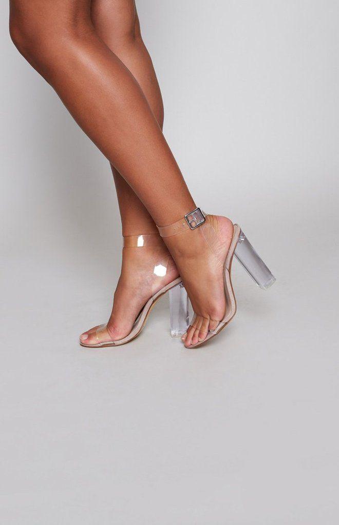 e9bbeae0f2f Windsor Smith Gemma Heels Clear