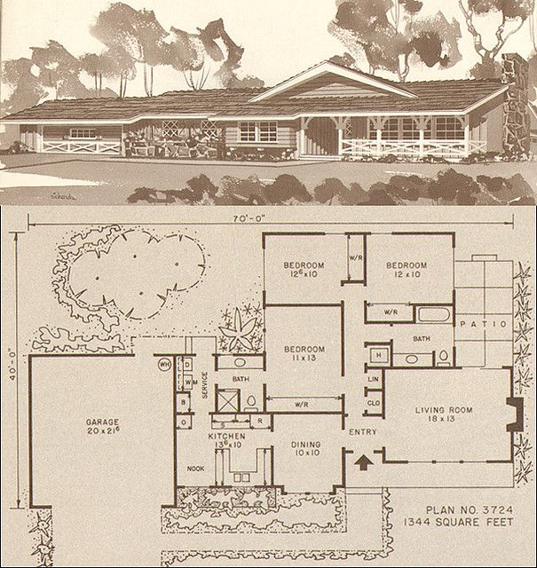 c. 1960 Storybook Ranch Plan | Bungalow floor plans, Ranch ... Ranch House Free Building Plans on drawing with a 2 car garage house plan, free cabin plan, blueprint construction house plan, free wooden chair plan, 40-60 house plan, free home plan, free barn plan, free duplex plan, square ranch house floor plan, free family reunion ideas, free farm plan, country ranch house floor plan, open ranch style home floor plan, free blueprints, ranch style house plans with open floor plan, simple ranch house plan,