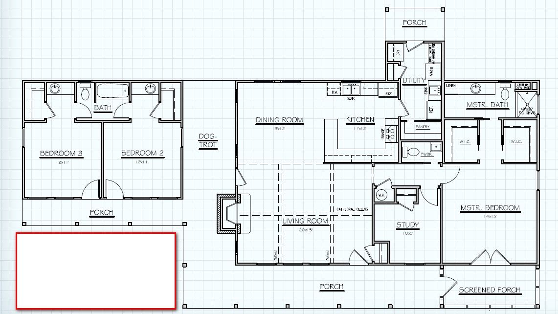 Our Perfect Dog Trot Floor Plan for the Country Casa