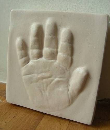 Baby Hand Imprints And Outprint Tutorial With Air Dry Clay
