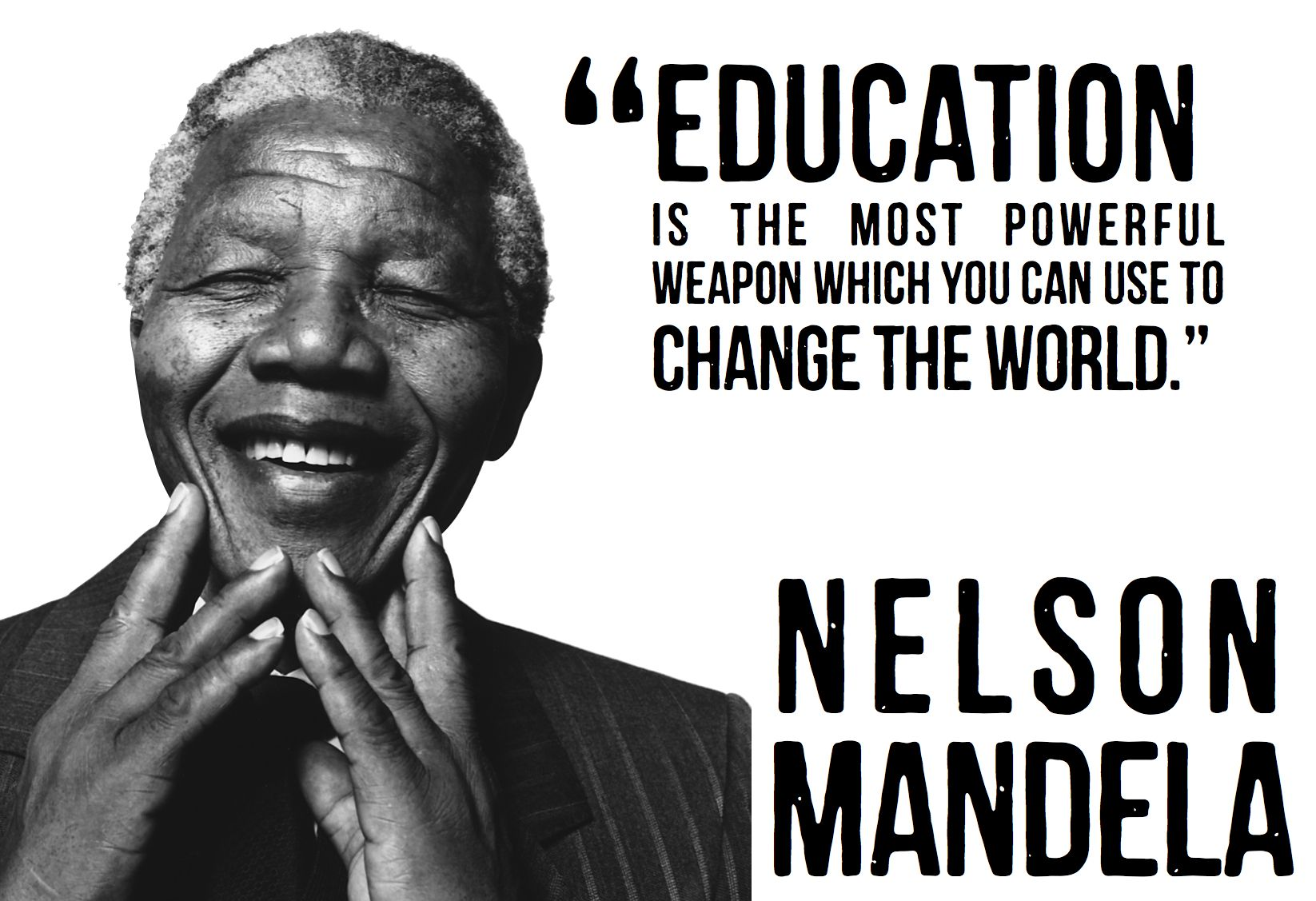 Happy 95th birthday nelson mandela thank you for expecting more and making the world