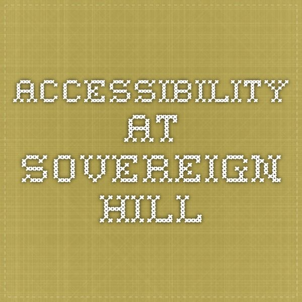 Accessibility At Sovereign Hill Wheelchair Access Map Openaccess