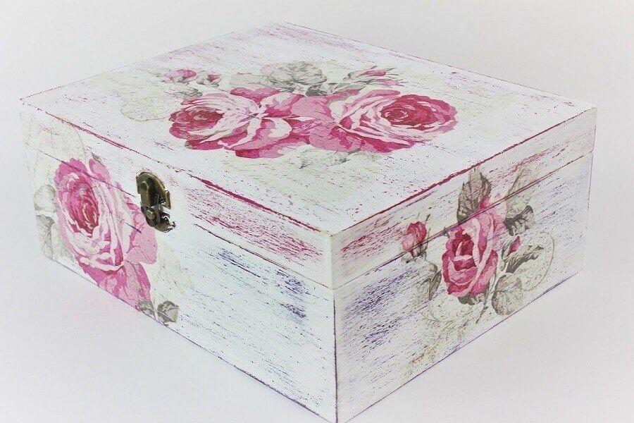 Caixa de MDF Decorada: Saiba como Pintar, Veja Técnicas +68 Modelos