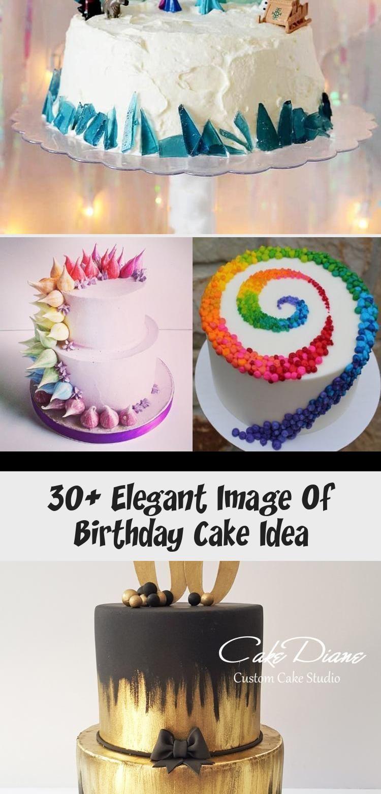 Photo of 30+ Elegantes Bild der Geburtstagstorte Idee. Geburtstagstorte Idee Überraschun…