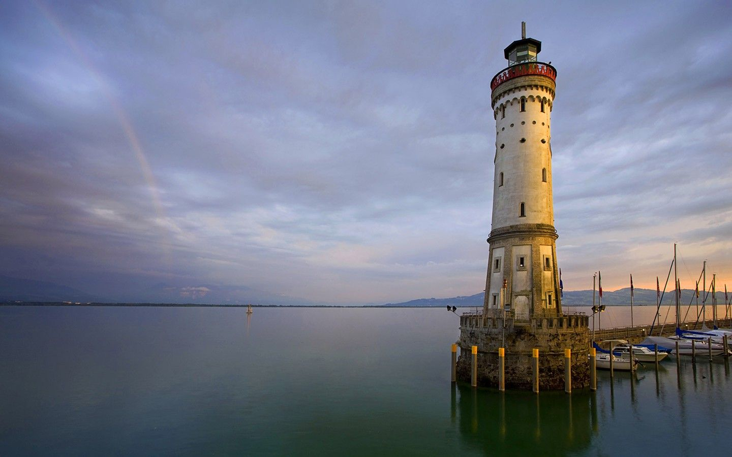 Lake Constance Germany Lindau Lighthouse on 30021 (With
