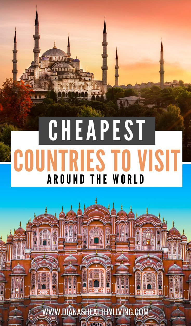 The Cheapest Countries to Visit Around the World #visitgreece